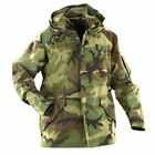 Gore-Tex  Men's US Military GI Woodland Camo Parka ECWCS Jacket, Made in USA