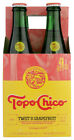 Topo Chico  Sparkling Mineral Water Grapefruit  (Pack of 6,  4/12 FZ Bottles)