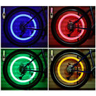 Car Bike Wheel Tyre Led Light Bulb Tire Air Valve Stem Screw Caps Lamp Accessory