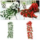Artificial Fake Hanging Flowers Vine Plant Home Garden Decore Outdoor Indoor Hot