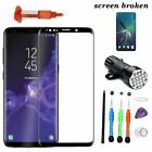 For Samsung Galaxy S9 S9 Plus Replacement Front Screen Glass Lens Repair Tools