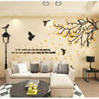 Large Family Tree Wall Decals 3D DIY Living Room Wall Stickers Mural Home Decor
