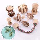 Natural Wooden Toys Chew Toys for Guinea Pigs Rat Small Pet Molars Supplies