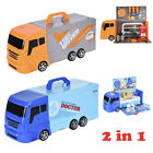 2-IN-1 Transforming Toy Truck Set For Kids Play Best Gift