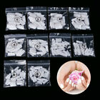 Kyпить Acrylic Nail Kit Powder Glitter Nail Art Manicure Rhinestone Tool Tips Brush Set на еВаy.соm