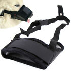 Adjustable Pet Dog Muzzle Biting Barking Chewing Safe Mouth Cover Small Medium