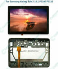 For Samsung Galaxy Tab 2 10.1 P5100 P5110 LCD Display+Touch Screen Digitizer RHN