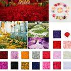 1000/5000pcs/pack Artificial Flowers Fake Silk Rose Petals Wedding Party Props