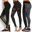 Plus Size Women Yoga Gym Leggings Fitness Running Sports Pants Exercise Trousers