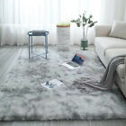 Comfy Fluffy Faux Fur Rug Area Rugs Hairy Soft Shaggy Bedroom Carpet Floor Mats