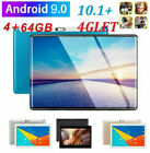 """10.1"""" WIFI/4G-LTE 64G Tablet Android 9.0 HD PC bluetooth SIM GPS Dual Camera"""