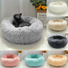 Calming Cat Beds for Indoor Cats Fluffy Long Plush Kennel Cave Beds Large Dogs