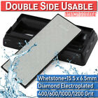 400#1000#600#1200 Diamond Stone Knife Sharpening Grit Whetstone Double Sided Kit