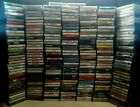 LOT of MUSIC CASSETTE TAPES U-PICK from HUGE SELECTION of MANY ARTISTS / BANDS