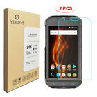 [2 Pack]  9H Tempered Glass Screen Protector For Cat S60 S61 S41 S31 S62 Pro