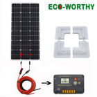 Best Solar Controllers - 100W Solar Panel kit 12V battery Charger 20A Review