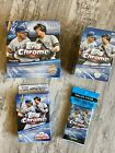 Topps Chrome 2020 Baseball Trading Cards MEGA Blaster Hanger Boxes & Value Packs