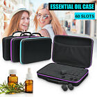 US 60 Bottle Essential Oil Carry Case 15ML Holder Storage Aromatherapy   P h