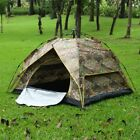 Outdoor 1 or 3-4 Persons Camping Tent Automatic Folding Hiking Camouflage Tent