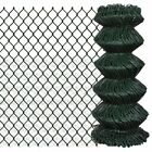 Outdoor Garden Galvanized Steel Chain-Link Mesh Fence Fencing Roll 15m/25m Green