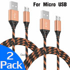 For Samsung Galaxy S7 Edge S7 S6 A7 J3 J7 LG Moto Micro USB Cable Fast Charging