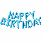 Happy Birthday Balloons Foil Letter Banner Bunting Party Decoration Decor