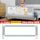 2m Baby Bed Fence Safety Gate Barrier Crib Rail Security Playpen Children