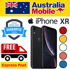 Apple Iphone Xr 256gb 128gb 64gb As New Excellent Unlocked Smartphone Au Stocked