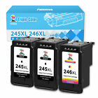 PG-245 XL CL-246 XL Ink Cartridge for Canon PIXMA TS3120 TS3122 TR4520 TR4522