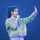 New IU Diamond Button Cardigan Jumper Sweater Kpop Fashion Outfit