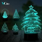 Christmas Tree 3d Lamp Changing Nightlight Home Party Decoration Creative Gift
