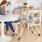 Baby Infant High Chair Toddler Booster Feeding Chair Child Kid Seat Sit 3-1 Set