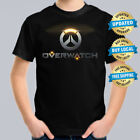 Overwatch Kids T-shirt Size 2-16 Gamer Computer Console Game Tee
