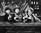 2528-015 3 Stooges Moe Larry Curly drinking beer at the bar short film Yes We Ha