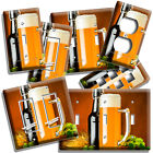 CRAFT BEER MUG HOPS WHEAT LIGHT SWITCH OUTLET WALL PLATE KITCHEN DINER ART DECOR