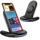 15W Qi Wireless Charger Charging Station Dock,For iPhone 12 Mini/Pro/Max/11/SE 2