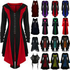 Party Women Halloween Renaissance Costume Long Sleeve Gown Witch Fancy Dress NEW