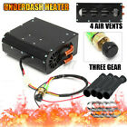 Universal 12V 4 Hole Compact Car Truck Heater Heat Demister Defroster Thre