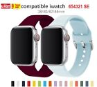 Sport Silicone Strap Band For Apple Watch Series Se 6 5 4 3 2 1 38 40 42 44mm