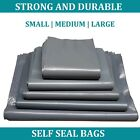 100% RECYCLED Grey Plastic Parcel Bags MAILING BAGS Postal Bags Postage Bags