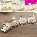 Wooden Cute Christmas Train Xmas Decor Best Gift for 2020 Home Ornaments Gift US