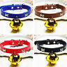 HN- Dog Cat Bone Collar Adjustable Cute Traction Leash Pet Supplies with Bell Fa