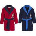 New Kids Bathrobe Boys Jake and the Neverland Pirates Blue Red Fleece 98 104 110