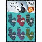 "Opal ""Black Dragon"" 4ply Sock Yarn 100g Superwash Knitting Wool - Full Range"