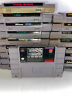 Super Nintendo SNES Choose A Game Lot *Updated 1/3* Tested BLOWOUT Discounted