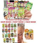 7th HEAVEN FACE MASKS & PEELS - OFF-FOR ALL SKINS TYPES - FOOT & HAIR MASKS