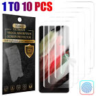 For Samsung Galaxy S21/S21+/S21 Ultra 5G HD Screen Protector Case Friendly Cover