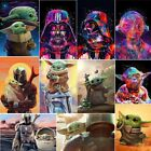 5D Full Drill Diamond Art Painting Alien Wars for Relaxation and Home Wall Decor
