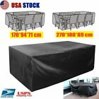 Us Waterproof Garden Patio Furniture Covers Rectangle Table Rain Cover Outdoor