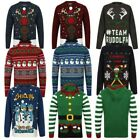Seasons Greetings Childrens Novelty Christmas Jumpers Festive Winter Sweaters
